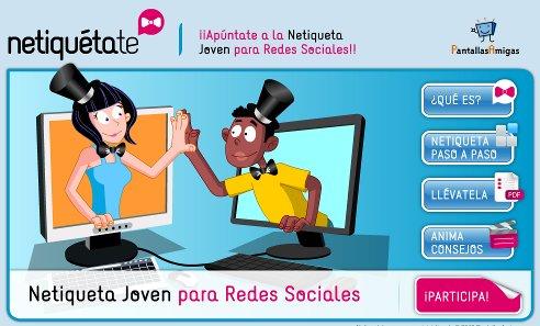img Netiquetate, Netiqueta joven para Redes Sociales