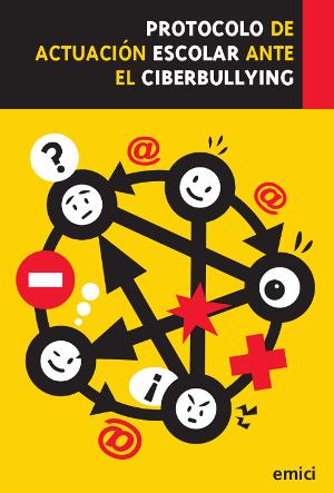 portada protocolo de actuación escolar ante elciberbullying